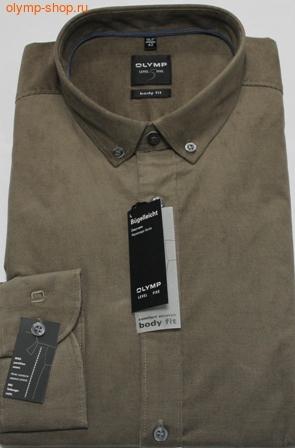 Вельветовая рубашка  мужская Olymp Level Five Body