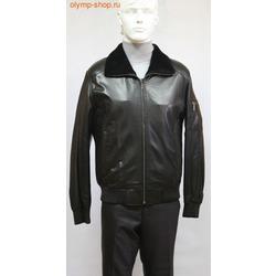 Кожаная куртка мужская PANDAS